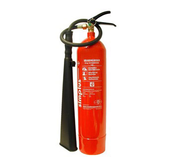 CO2 Fire Extinguishers / Koolzuursneeuw Brandblusser | SAFE