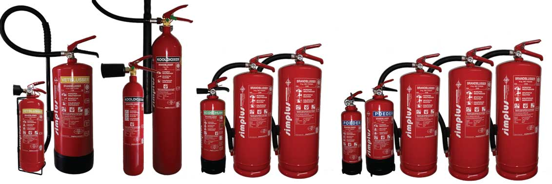 ABC Dry Chemical Fire Extinguisher - Brandblusser Poeder  | SAFE